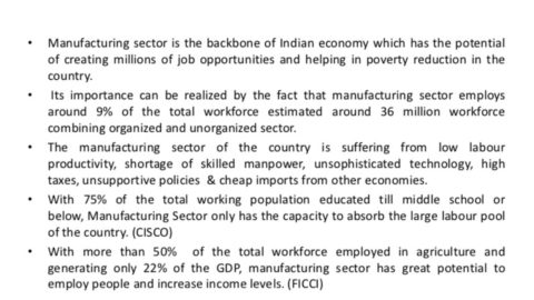 Manufacturing Competitiveness of Indian States
