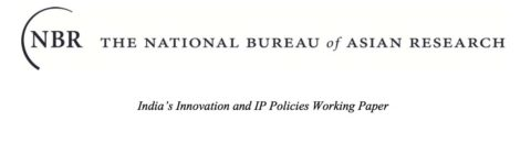 Intellectual Property Rights in India: Innovation and Competitiveness in the Indian Context