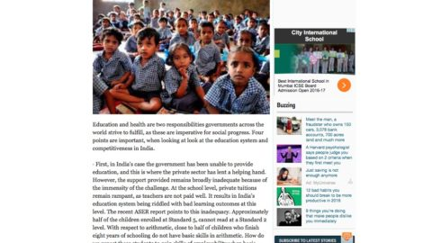 4 ways to make India's education system competitive worldwide