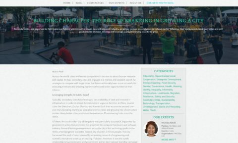 Building Character: The Role of Branding in Growing a City