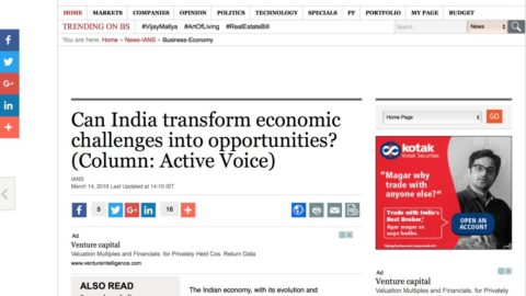 Can India transform economic challenges into opportunities?