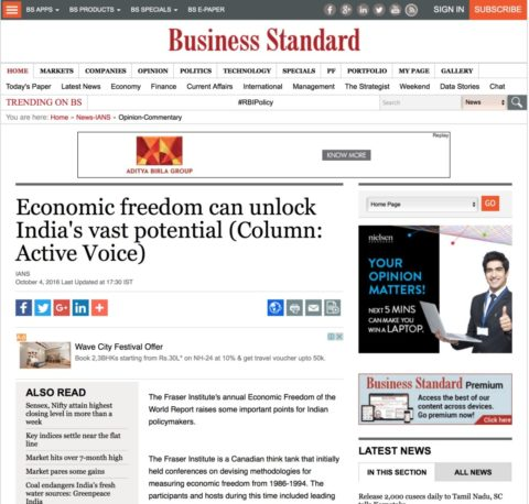 Economic freedom can unlock India's vast potential