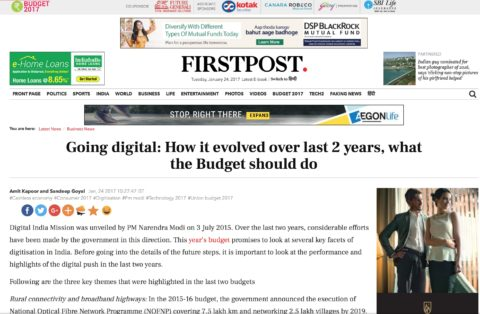 Going digital: How it evolved over last 2 years, what the Budget should do