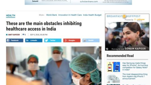 These are the main obstacles inhibiting healthcare access in India