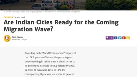 Are Indian Cities Ready for the Coming Migration Wave?