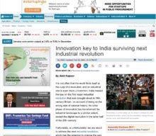 Innovation key to India surviving next industrial revolution