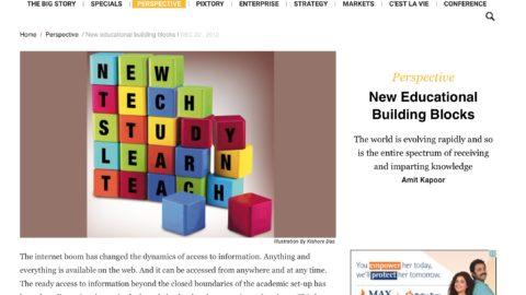 New educational building blocks