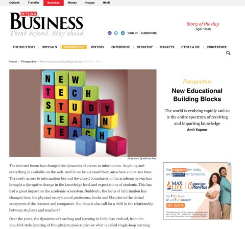 New educational building blocks