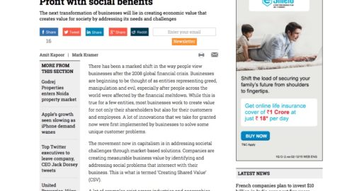 Profit with Social Benefits