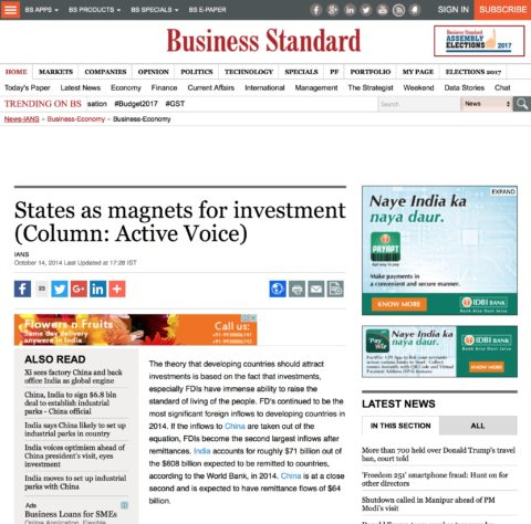 States as magnets for investment
