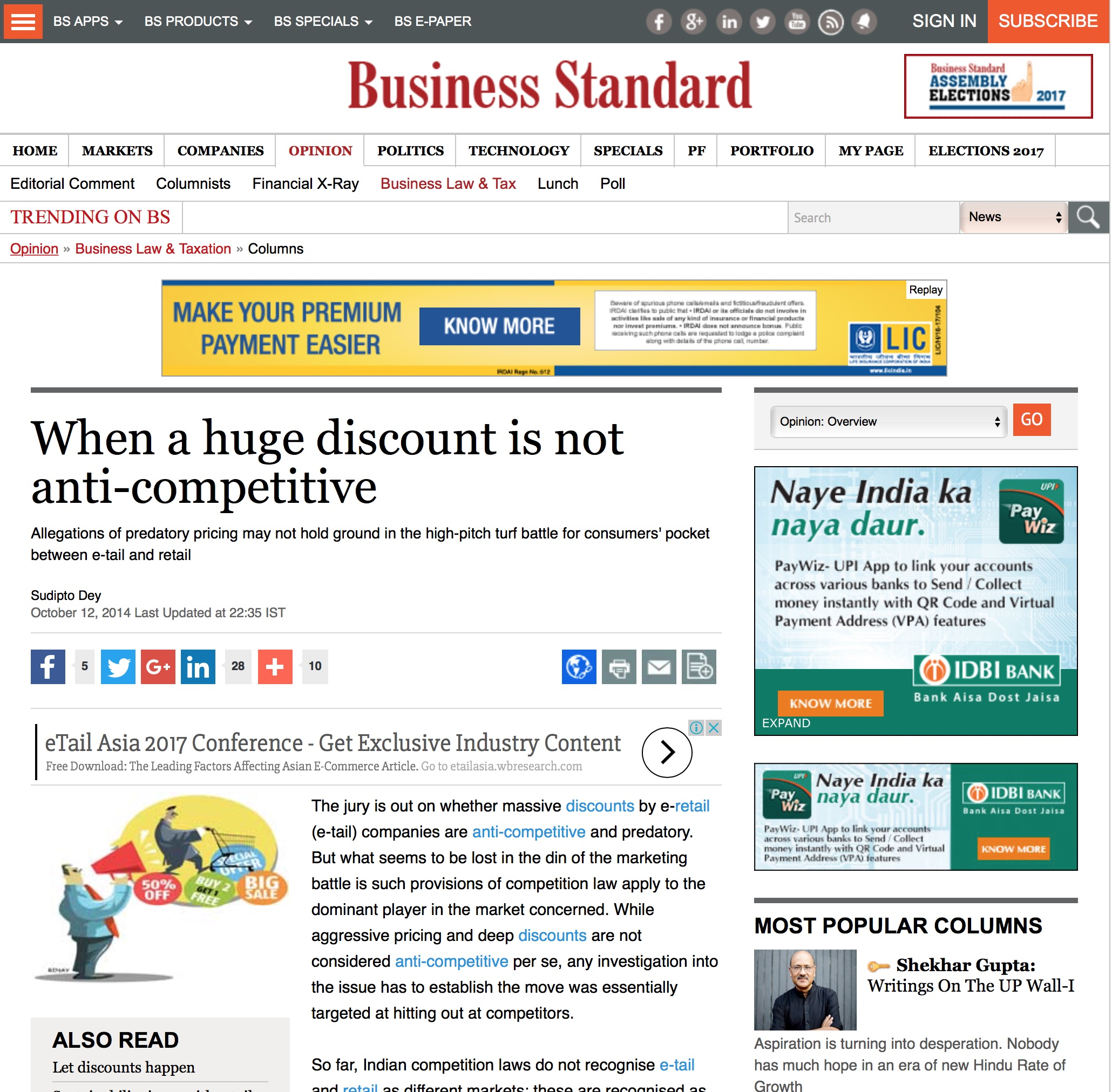 Competitive Pricing: When A Huge Discount Is Not Anti-competitive