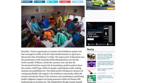 How to build a healthcare system for all in India
