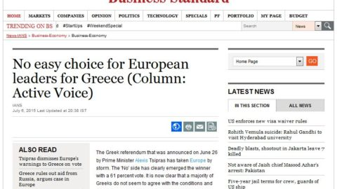 No easy choice for European leaders for Greece