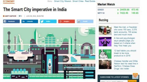 The Smart City imperative in India
