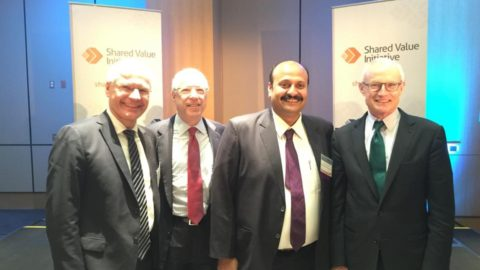 Shared Value Initiative India launched in New York city