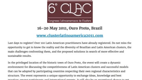 Clusters, a Strategic Agenda for Latin America