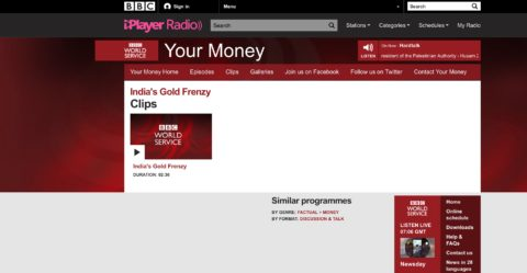 India's Gold Frenzy