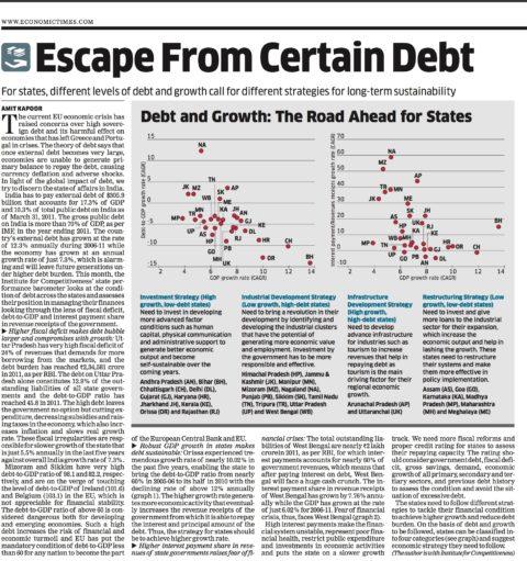 Escape from certain debt