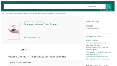 Halonix Limited – the product portfolio dilemma