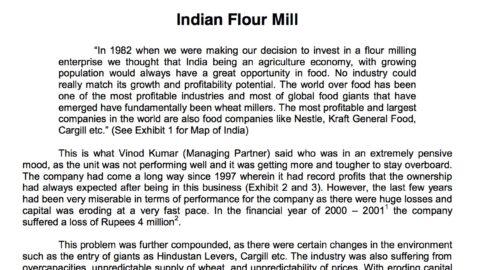Indian Flour Mill