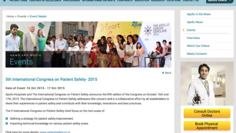 5th International  Congress on Patient Safety