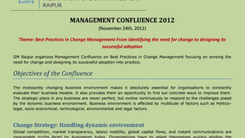 Best practices in change management