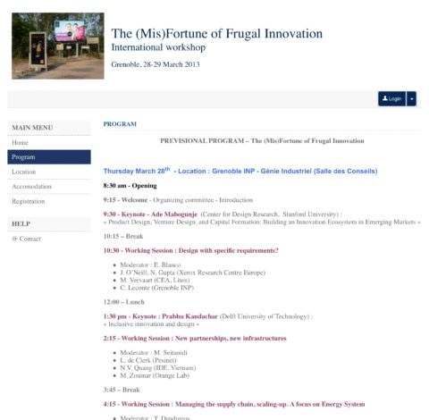Governing frugal innovation
