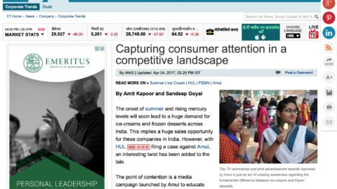 Capturing consumer attention in a competitive landscape