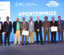 Professor Michael E. Porter presented Porter Prize 2017 in Mumbai