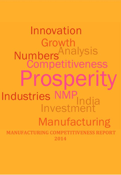 Manufacturing Competitiveness Report 2014