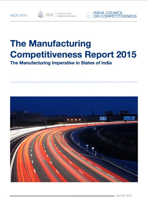 Manufacturing Competitiveness Report 2015