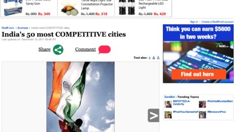 India's 50 most COMPETITIVE cities