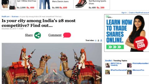 Is your city among India's 28 most competitive?