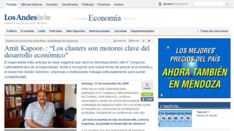 Los cluster son motores clave del desarrolo economico