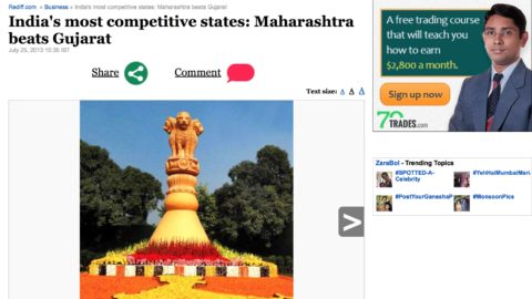 India's most competitive states: Maharashtra beats Gujarat