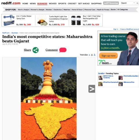 India's most competitive states: Maharashtra beats Gujarat