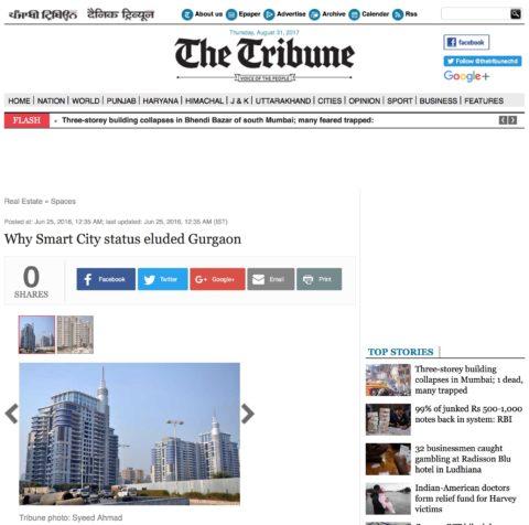 Why Smart City status eluded Gurgaon