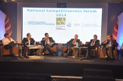 India's National Competitiveness Forum attended by more than hundred CXO's and other global leaders