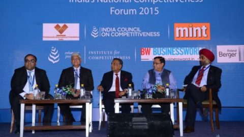 Deliberations were Made Around the Theme of Manufacturing at the India's National Competitiveness Forum