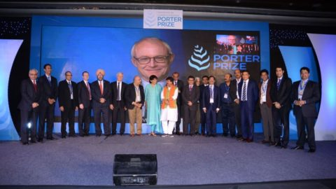 Porter Prize Recognizes the Strategic Acumen of Corporates in India
