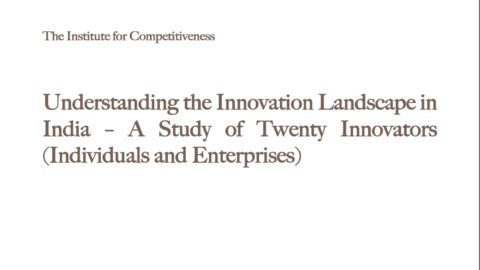 Understanding the Innovation Landscape in India