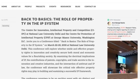 Intellectual Property, Innovation, and Economic Growth