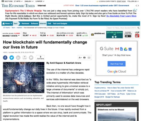 How blockchain will fundamentally change our lives in future