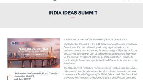 The India Ideas Summit