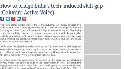 How to bridge India's tech-induced skill gap