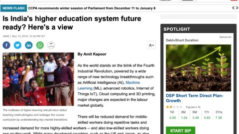Is India's higher education system future ready? Here's a view