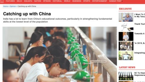 India needs to improve its educational outcomes to catch up with China