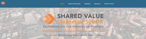 Shared Value Leadership Summit 2019