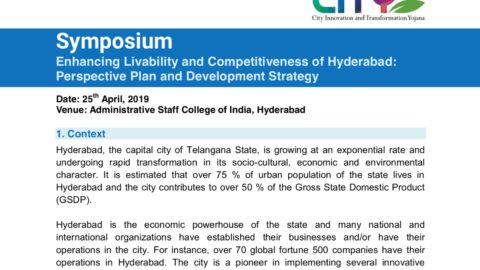 Enhancing Economic Competitiveness of Hyderabad – Practical Solutions