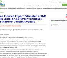 Vedanta's induced impact estimated at INR 3.74 lakh crore, or 2.2% of India's GDP:  Institute for Competitiveness